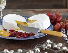 Wine and cheese for easy entertaining.