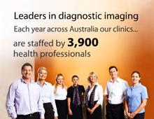 Website for diagnostic imaging network.