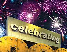 A celebration worthy of fireworks.