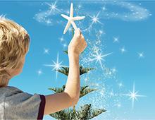 Celebrating Christmas in Summer.